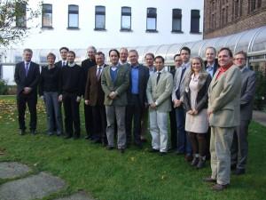Der ESMA-Kreis am Mutterhaus der Aachener Franziskanerinnen