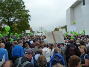 Marsch für das Leben mittendrin